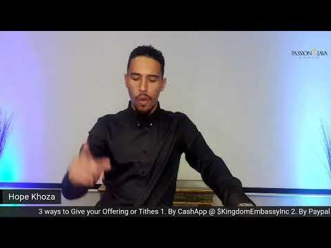 Prophetic Sunday LIVE! with Prophet Hope Khoza