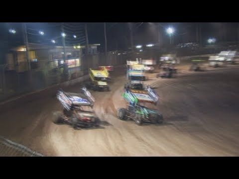2008/09 Queensland Sprintcar Title (Night 1): Maryborough Speedway   6th June 2009 - dirt track racing video image