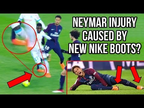 27ee0c81b DID NEYMAR S NEW NIKE MERCURIAL BOOTS CAUSE HIS ANKLE INJURY ...