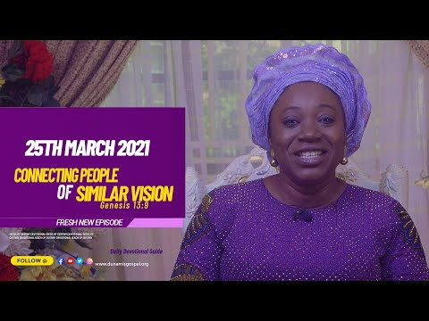 Dr Becky Paul-Enenche - SEEDS OF DESTINY  THURSDAY MARCH 25, 2021