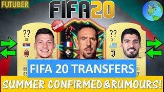 FIFA 20 | SUMMER CONFIRMED TRANSFERS & RUMOURS!! FT. RIBERY, SUAREZ, JOVIC ETC... (TRANSFER RUMOURS)