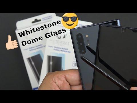 Samsung Galaxy Note 10  & Note 10 Plus Whitestone Dome Full 3D Curved Edge Tempered Glass Review - UCQN7NhtBqADmNaRA3yc_mAQ