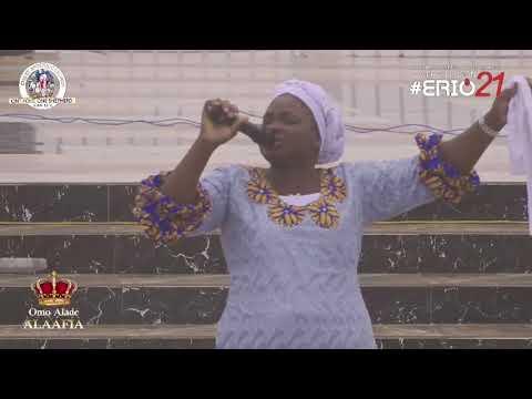 Sister Nike Omo-Niyi MINISTRATION IN PRAISES DURING ERIO2021