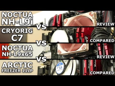 Low Profile Cooler Showdown - NH-L9i vs C7 vs NH-L9x65 vs 11LP - UCMUkiF_MRjYZaG1uwD1ExWw