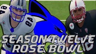 NCAA Football 14 | Sanford College Dynasty | Season 12 Rose Bowl: VS Stanford