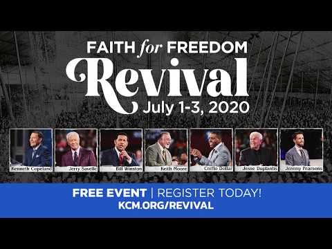 Join Us for a Tent Meeting! Faith for Freedom Revival, July 1-3, 2020!