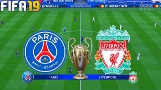 FIFA 19 | PSG vs Liverpool - UEFA Champions League - Full Match & Gameplay