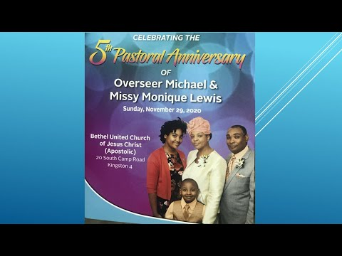 Bethel Sunday Morning Service 5th Pastoral Anniversary of Overseer  Michael & Missionary Lewis
