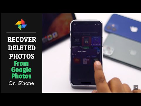 Recover Deleted Photos from Google Photos on iPhone 2021