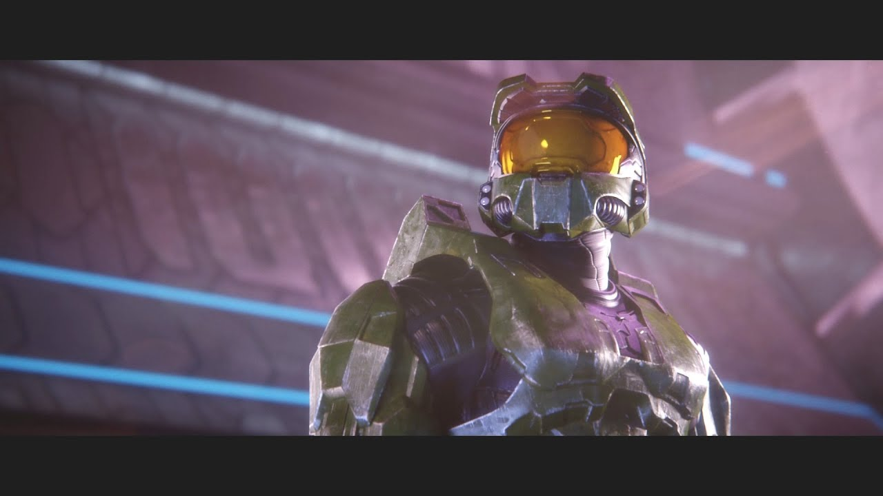 Master Chief Halo 2 Anniversary Cutscenes Remastered By Blur