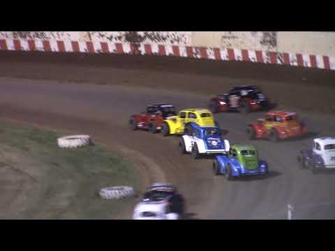 6/13/21 Legend Feature Angell Park Speedway - dirt track racing video image