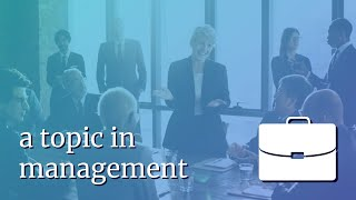 Foundations of Operations & Management - about VTR's Online Course