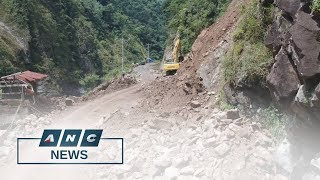 DPWH inspects road clearing operations in landslide-hit Kennon road | Top Story