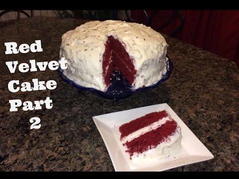 How to Make: Red Velvet Cake pt 2