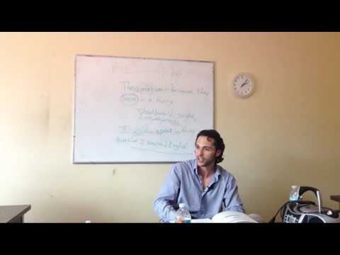OTP English Lesson - Richard - Activate Phase - Classroom Discussion