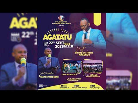 FOURSQUARE TV  AGATATU SERVICE WITH Pastor Theogene NIYONSHUTI  - 22.09.2021