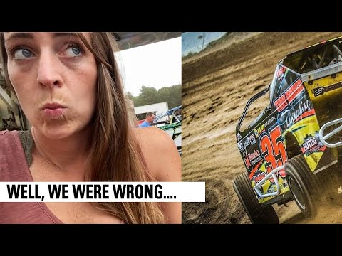 We Did NOT Think We'd Get The Show In | Albany Saratoga Speedway - dirt track racing video image