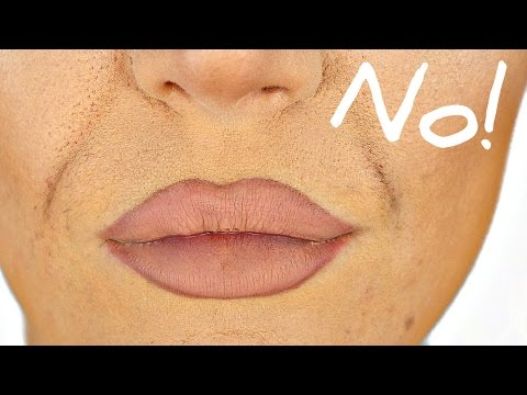How to Stop Foundation Creasing in Smile Lines - EASY TRICK! - UCZQ0XPE7wxMafUf8dIHOxgQ