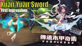 Xuan Yuan Sword Luminary: First Impressions