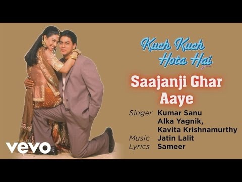Saajanji Ghar Aaye Best Song - Kuch Kuch Hota Hai Shah Rukh Khan,Kajol Alka Yagnik - UC3MLnJtqc_phABBriLRhtgQ