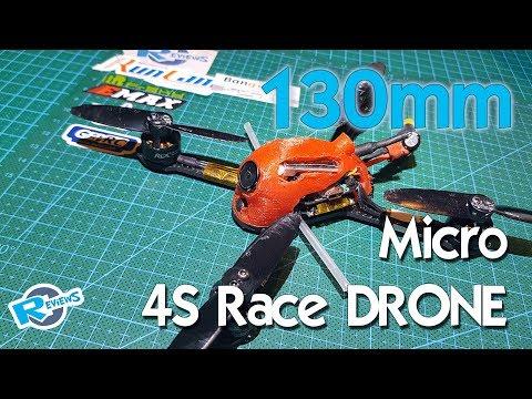 "Micro 130mm 3"" - 4S Race Drone - UCv2D074JIyQEXdjK17SmREQ"