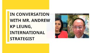 WION Exclusive: In Conversation with Mr. Andrew KP Leung, International Strategist from Hong Kong