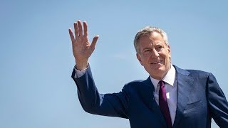 NYC Mayor Bill de Blasio announces he is running for president