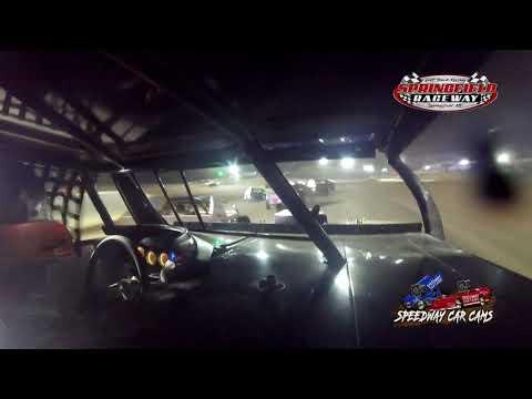 #5* John Briggs - IMCA Mod - 8-14-2021 Springfield Raceway - In Car Camera - dirt track racing video image
