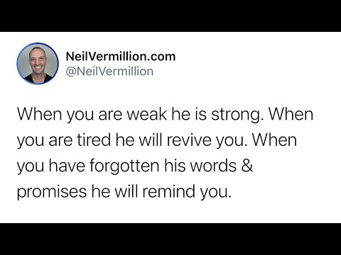 Your Heart Will Remain Strong Again - Daily Prophetic Word