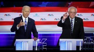 Sanders Hits Biden For 'Parroting' Big Pharma Talking Points