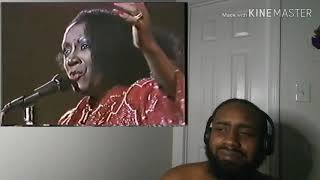 Patti LaBelle - Somewhere Over The RainBow #LIVE #REACTION