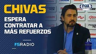 Amaury Vergara: 'Chivas busca a los mexicanos más talentosos'