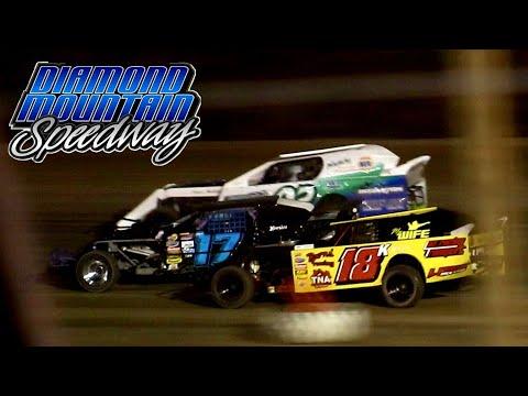 Diamond Mountain Speedway IMCA Northern SportMod Main Event 8/21/21 - dirt track racing video image