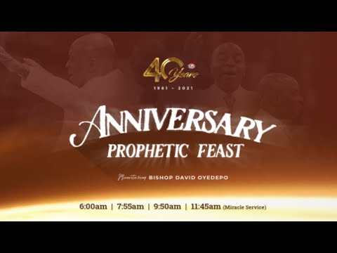 DOMI STREAM: DAY 1  40TH ANNIVERSARY PROPHETIC FEAST SERVICE   1, MAY 2021.