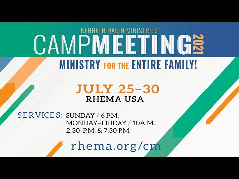 07.27.21  Campmeeting  Tues 10am  Rev. Charles Cowan
