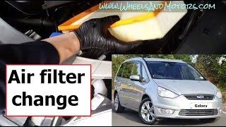 Cambiare filtro aria motore S-Max