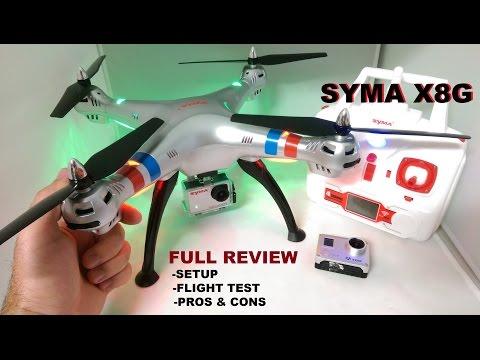 SYMA X8G Review - HD Quadcopter Camera Drone - [Setup - Flight Test - Pros & Cons] - UCVQWy-DTLpRqnuA17WZkjRQ