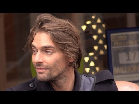 EXCLUSIVE : Camille Lacourt comes out of the C a Vous tv show in Paris