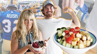 Letting a professional VEGAN athlete DECIDE what I eat for 24 hours