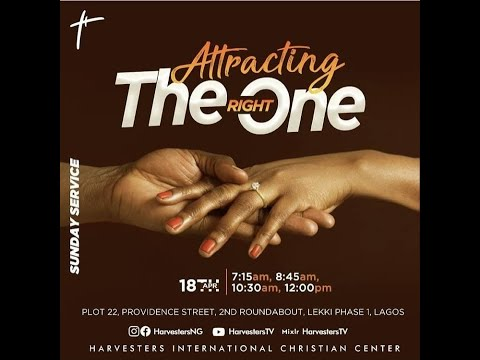Attracting The Right One  Pst Bolaji Idowu  18th April 2021