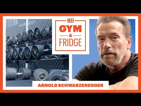 Arnold Schwarzenegger Shows His Gym & Fridge | Gym & Fridge | Men's Health - UCwJfDTNqtM5n-dQBfuuHzYw