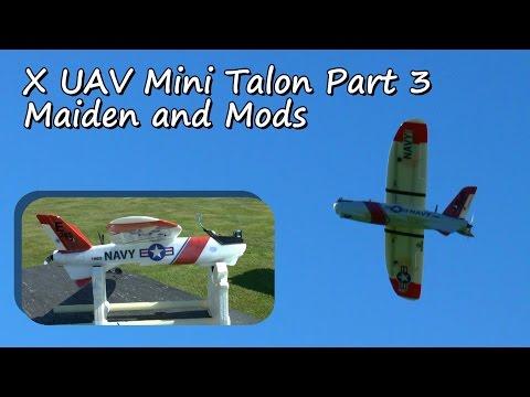 X UAV Mini Talon Part 3 - Maiden and More Mods - UCvrwZrKFfn3fxbkpiSIW4UQ