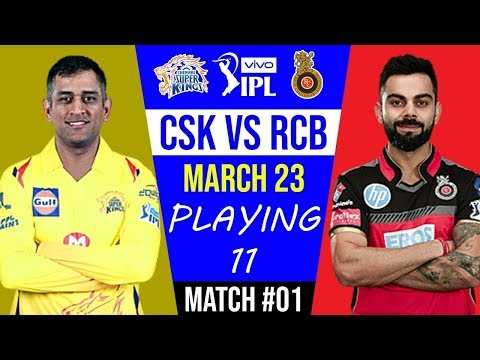 #CSK VS #RCB first match all details,#Playing11 | #indiacrickettv | #IPL_2019