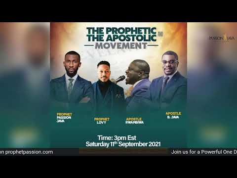 Prophetic Teaching and Impartation- LIVE! with Prophet Passion Java
