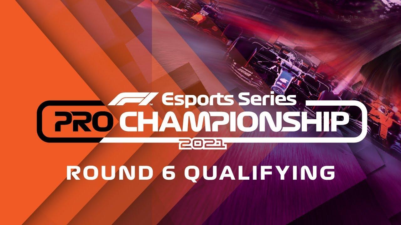 LIVE: 2021 F1 Esports Pro Championship: Round 6 Qualifying