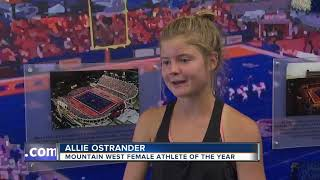 Allie Ostrander named 2019 Mountain West 'Athlete of the Year'