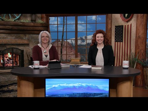 Charis Daily Live Bible Study: Gaining Perspective - Carrie Pickett - April 19, 2021