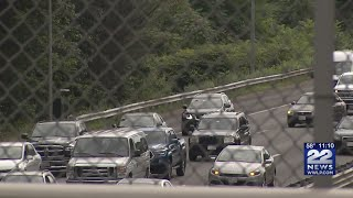 Traffic on I-291 back to normal after 30 gallons of adhesive spilled
