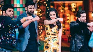 Saaho Prabhas Shraddha Kapoor Spectacular Moments On Kapil Sharma Show with Neil Nitin Mukesh