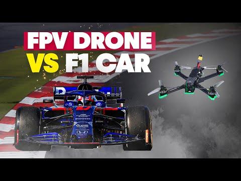 Can An FPV Drone Keep Up With A Formula 1 Car? - UC0mJA1lqKjB4Qaaa2PNf0zg